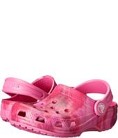 Crocs Kids - Classic Tie Dye Graphic Clog (Toddler/Little Kid)