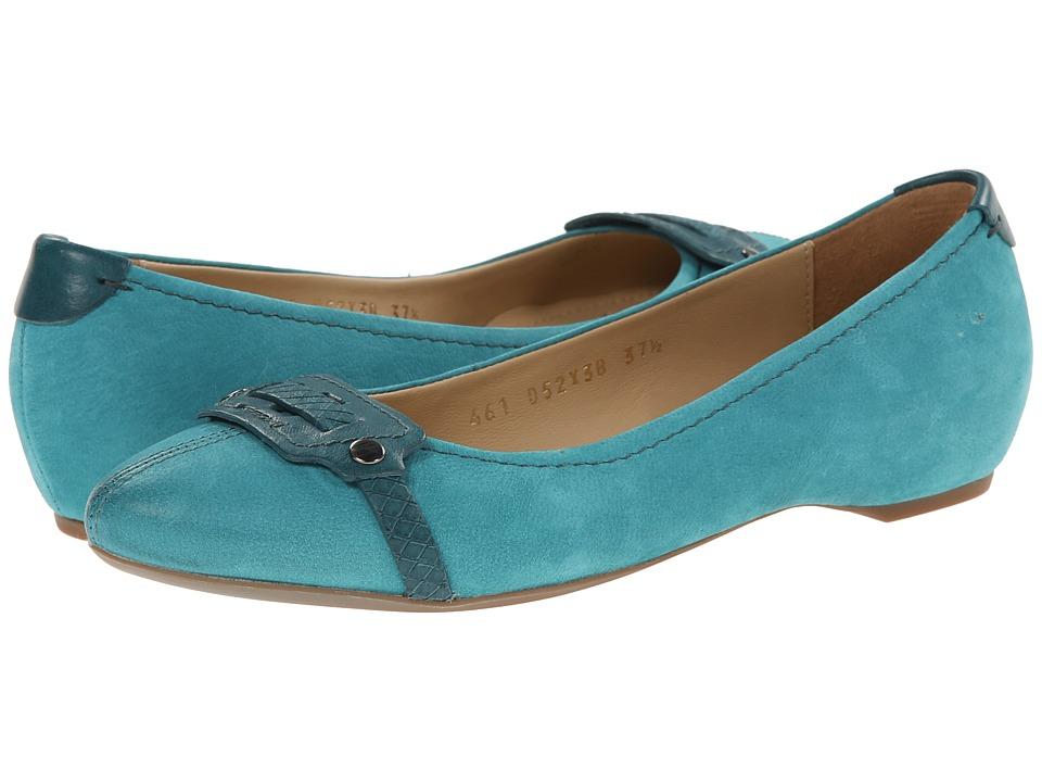 Geox - D Leslie (Petrol) Women's Slip on  Shoes