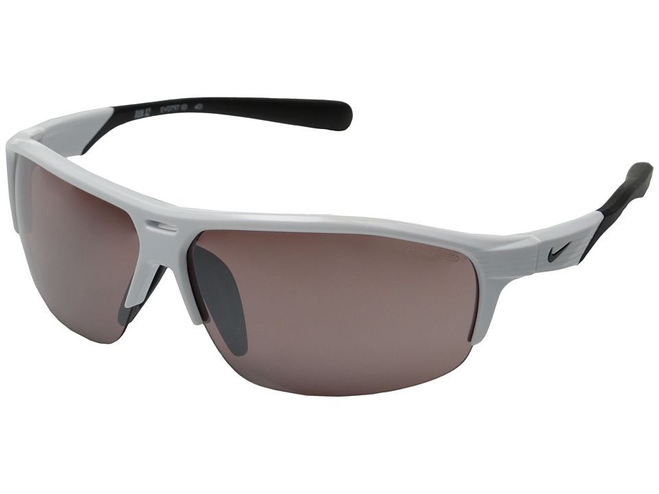 Nike Run X2 White/Black Sport Sunglasses