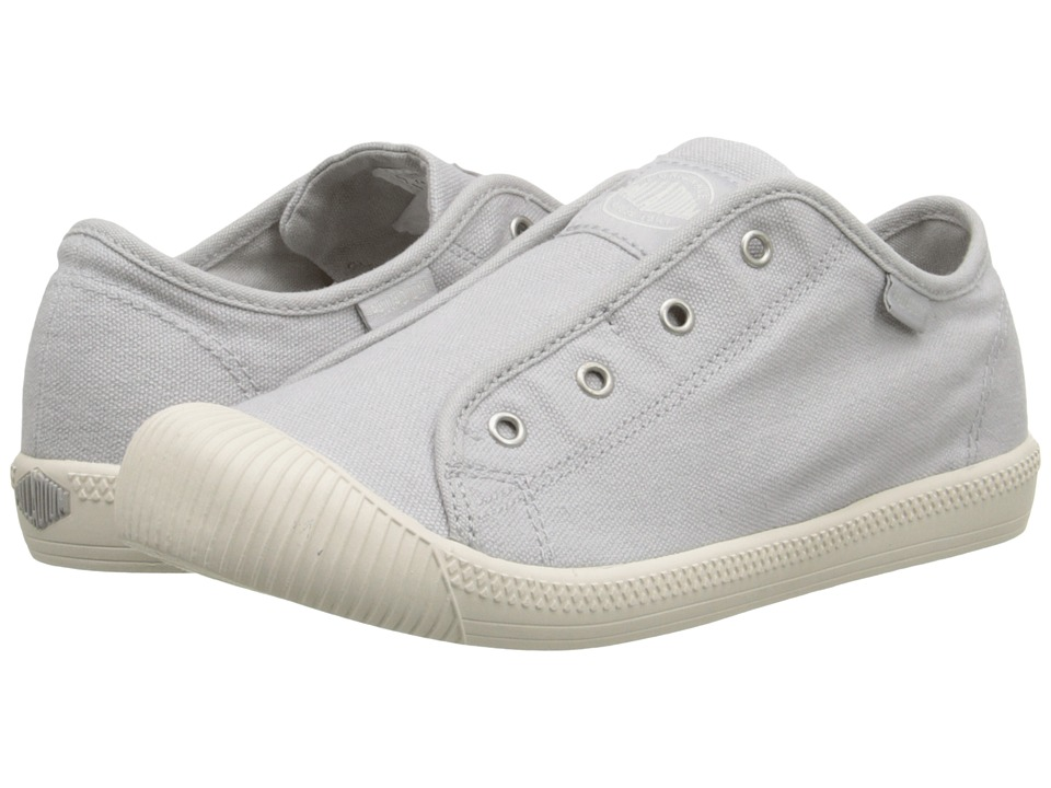 Palladium Kids Flex Slip On TO Little Kid Lunar Rock/Marshmallow Kids Shoes