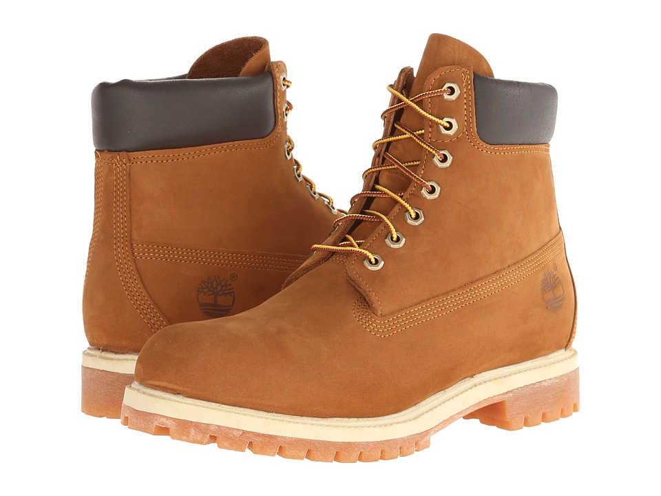 Timberland - 6 Premium Boot (Rust Nubuck) Mens Lace-up Boots
