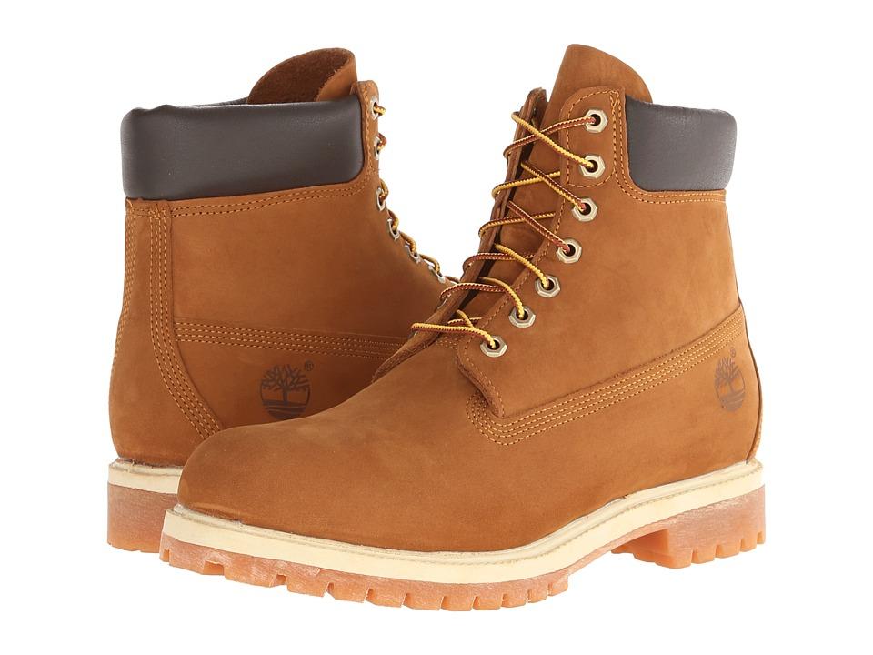 Timberland - Classic 6 Premium Boot (Rust Nubuck) Men