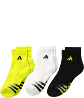 adidas Kids - Cushion 3-Pack Quarter (Little Kid/Big Kid/Adult)