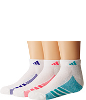 adidas Kids - Cushion 3-Pack Low Cut (Little Kid/Big Kid/Adult)