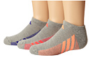 adidas Kids Cushion 3-Pack No Show (Little Kid/Big Kid/Adult)