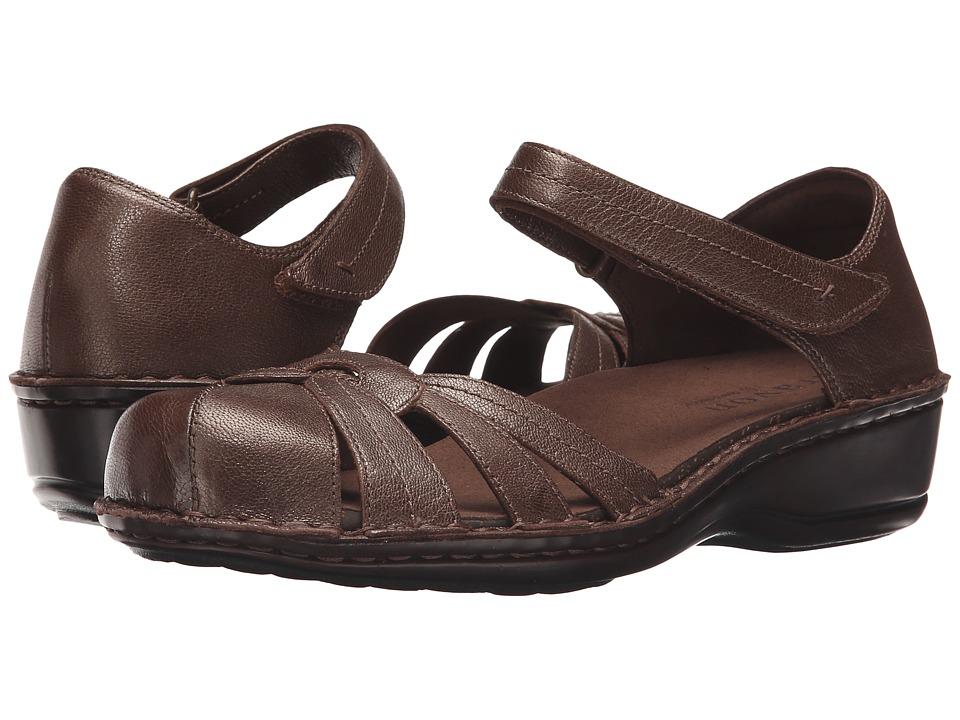 Aravon Clarissa Bronze Womens Shoes