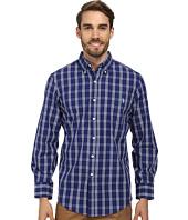 U.S. POLO ASSN. - Long Sleeve Button Down Plaid Shirt w/ Logo on Pocket