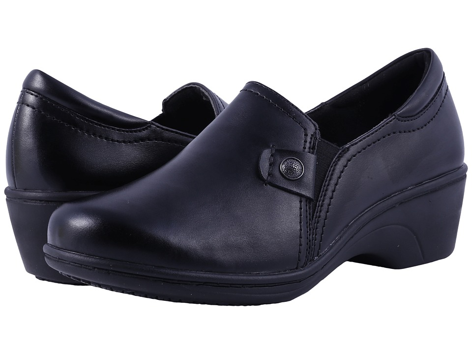 Aravon - Hope (Black) Womens Slip on  Shoes