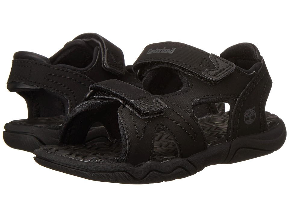 Timberland Kids - Adventure Seeker 2-Strap Sandal (Toddler/Little Kid) (Blackout) Boys Shoes