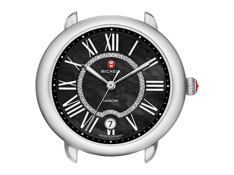Michele Serein 16 Black Diamond Dial Watch Head Black Diamond Dial Watches