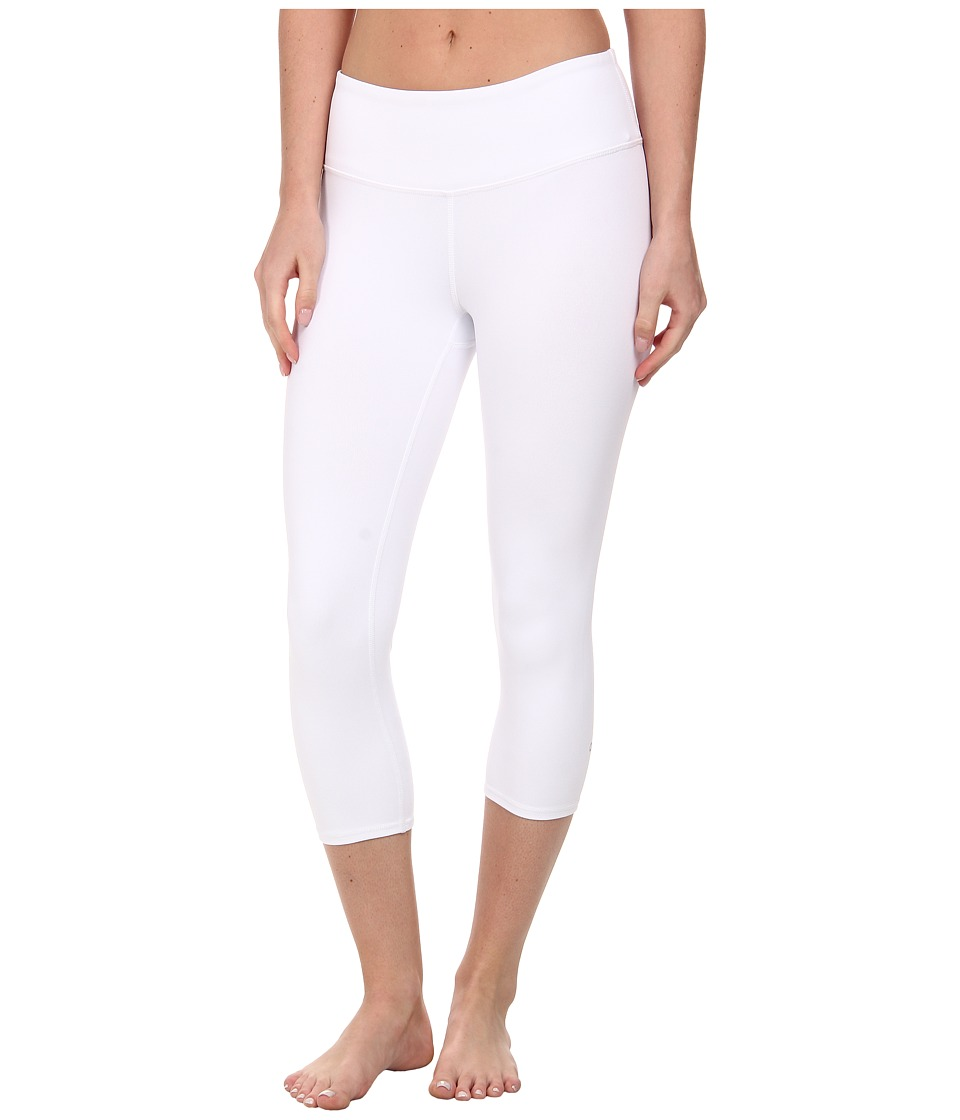 ALO Airbrushed Capri White 1 Womens Workout