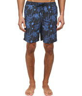 Paul Smith - Palm Tree Long Classic Swim Short