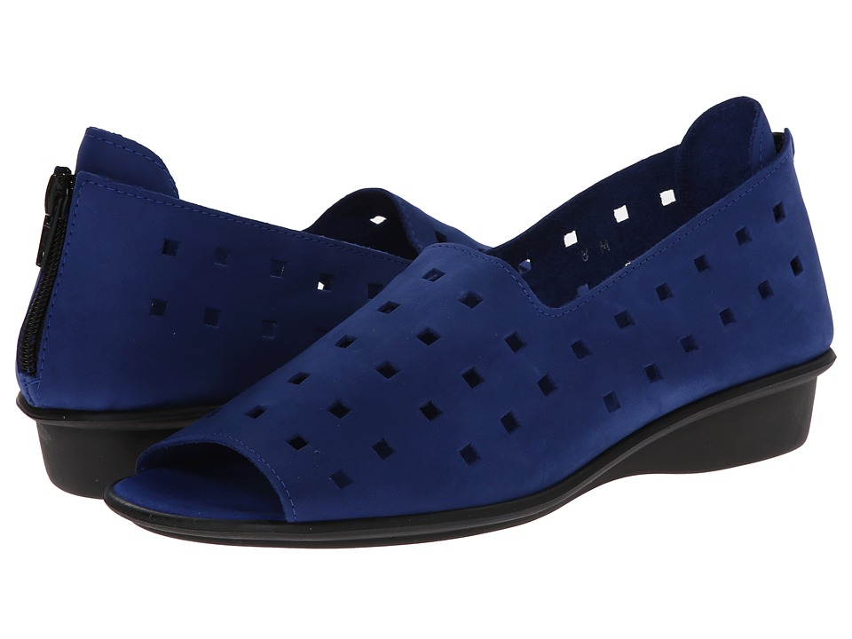 Sesto Meucci - Evonne (Bluette Nubuck) Womens Sandals