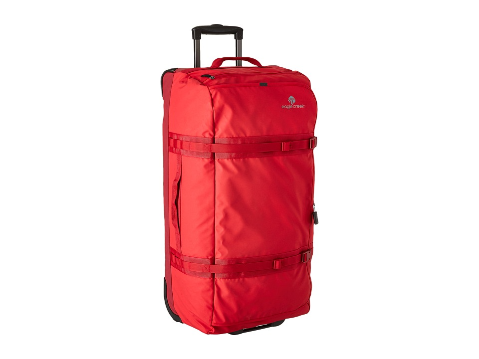 Eagle Creek - No Matter What Flatbed Duffel 32 (Firebrick) Duffel Bags