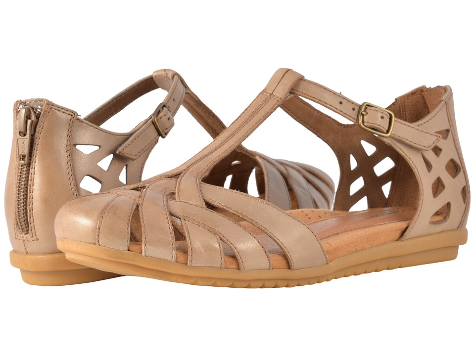 Cobb Hill Ireland Khaki Womens Sandals