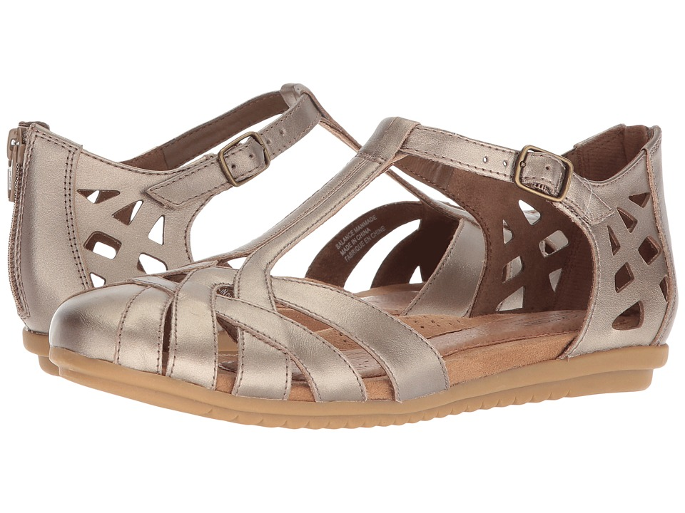 Cobb Hill Ireland Pewter Womens Sandals