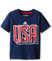 adidas Kids  USA Tee (Toddler/Little Kids)
