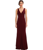 ABS Allen Schwartz - Sleeveless Deep V-Neck Gown