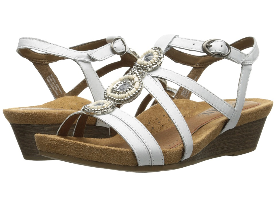 Rockport Cobb Hill Collection - Cobb Hill Hannah (White) Womens Wedge Shoes
