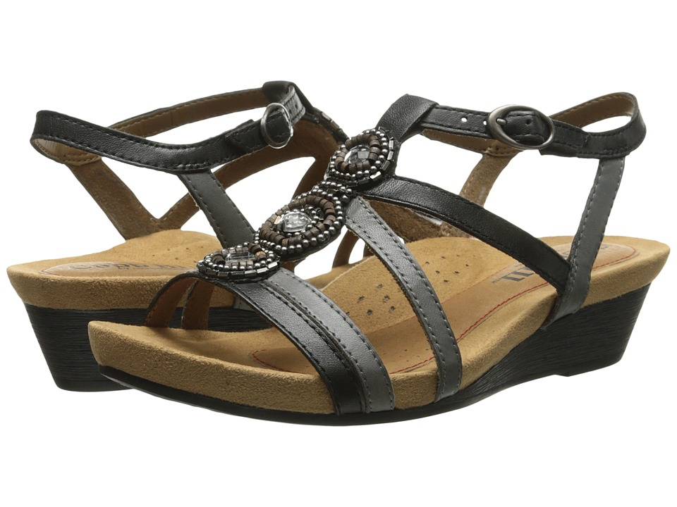 Rockport Cobb Hill Collection Cobb Hill Hannah (Black) Wedges