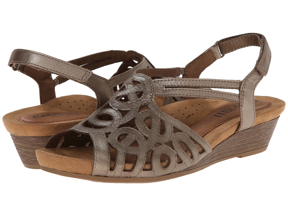Rockport Cobb Hill Collection Cobb Hill Helen (Pewter) Wedges
