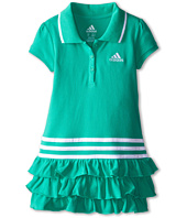 adidas Kids - Ruffle Polo Dress (Toddler/Little Kids)
