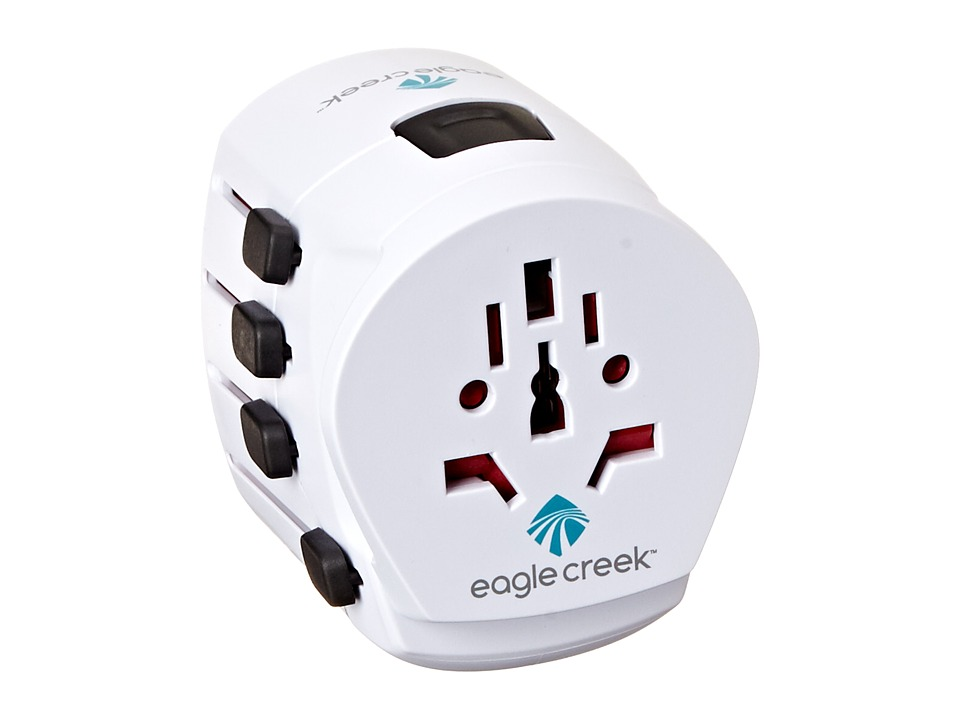 Eagle Creek - USB Universal Travel Adapter Pro (White) Bags