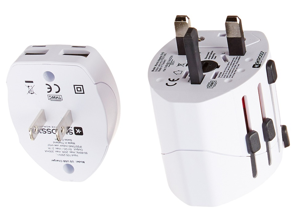 Eagle Creek - USB Universal Travel Adapter (White) Bags