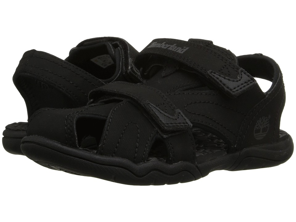 Timberland Kids - Adventure Seeker Closed Toe Sandal (Little Kid) (Blackout) Boys Shoes