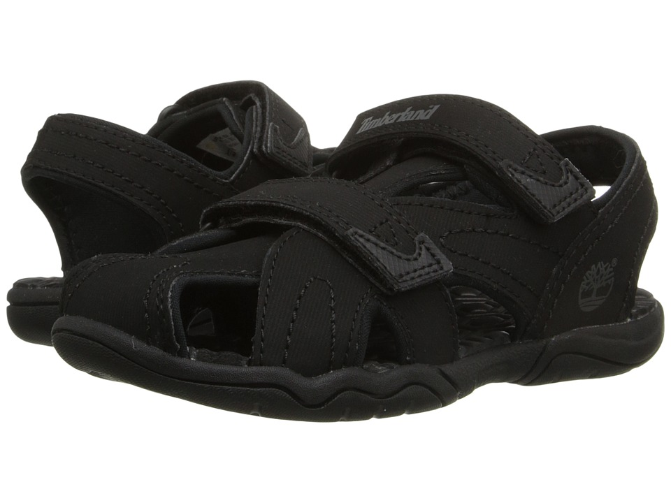 Timberland Kids - Adventure Seeker Closed Toe Sandal (Toddler/Little Kid) (Blackout) Boys Shoes