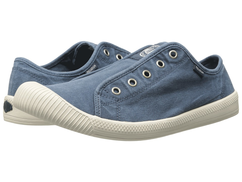 Palladium Flex Slip On (Blue/Marshmallow) Women