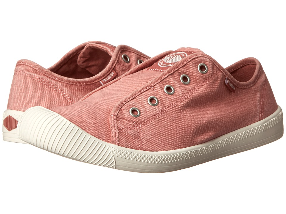Palladium Flex Slip On (Old Rose/Marshmallow) Women