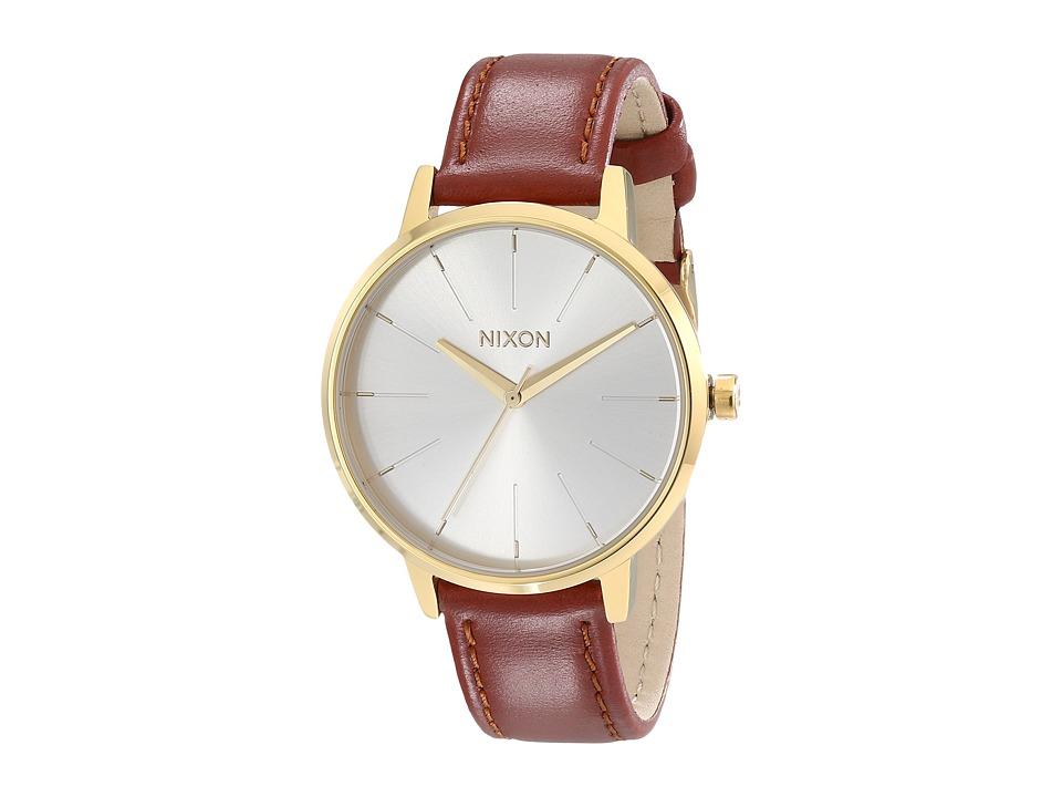 Nixon - Kensington Leather (Gold/Saddle) Watches