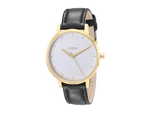 Nixon Kensington Leather - Gold/White/Black