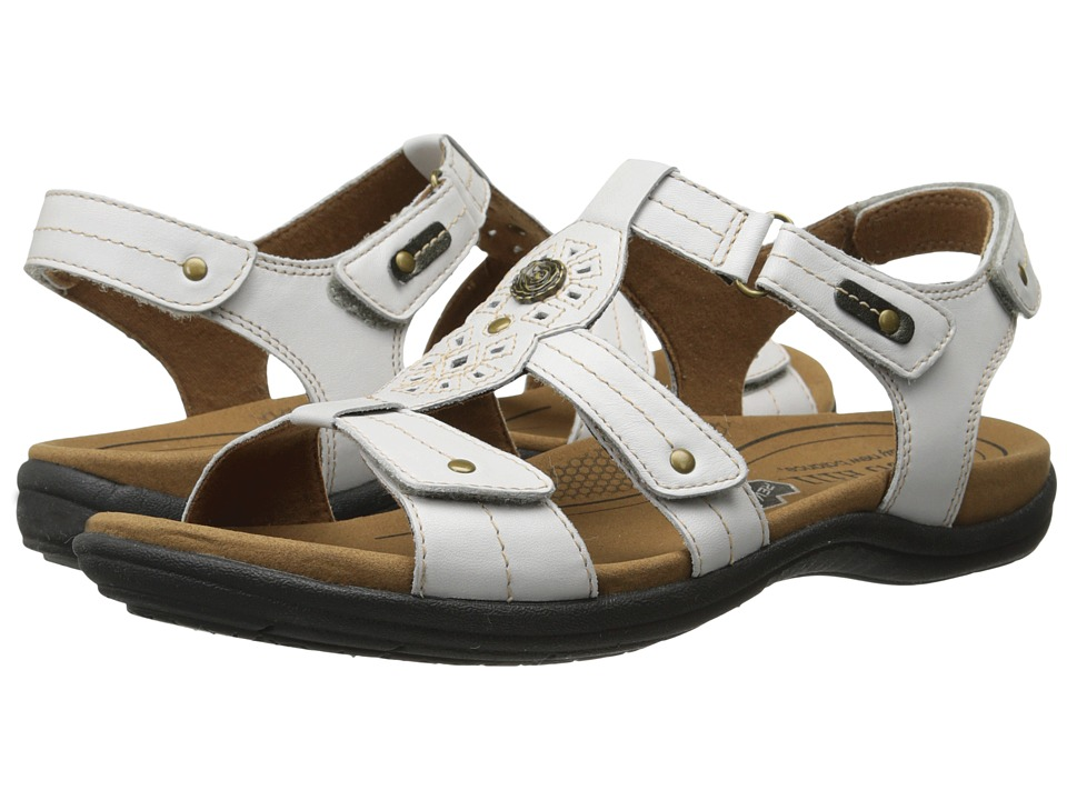Cobb Hill REVsoothe White Womens Sandals