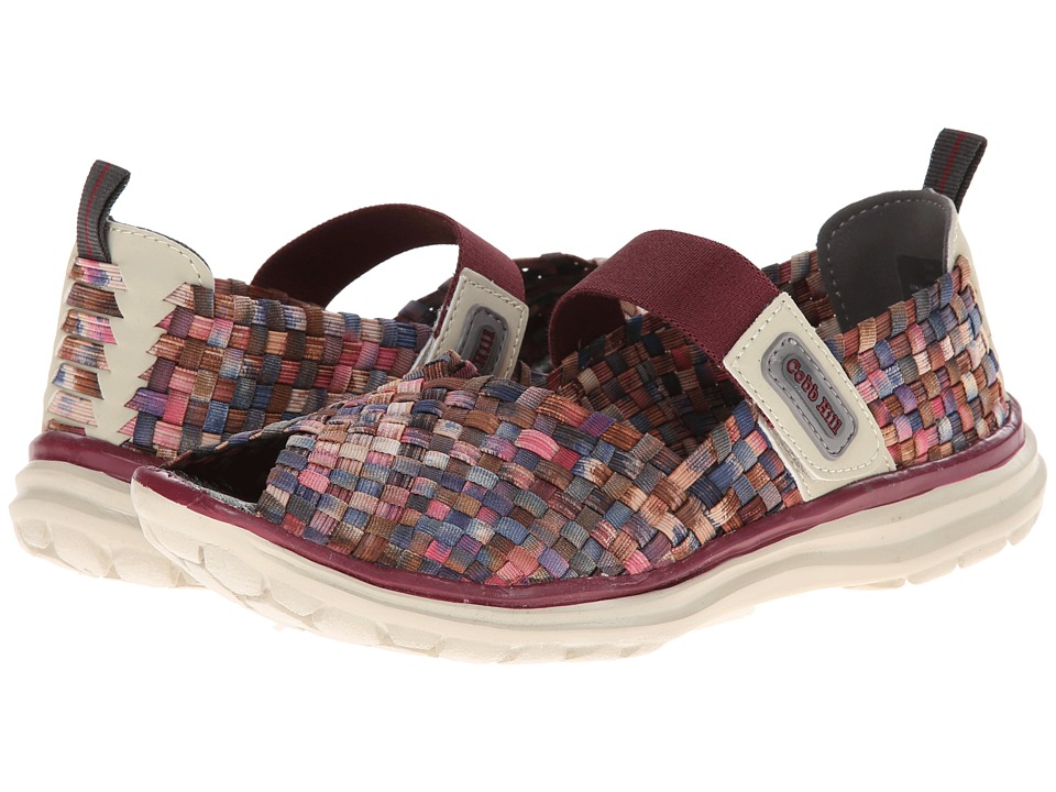 Cobb Hill Wink Wine Fiesta Womens Shoes
