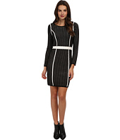Calvin Klein - Long Sleeve Framed Sweater Dress