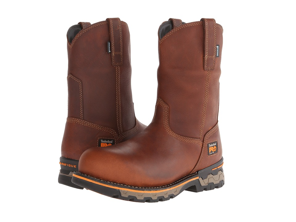 Timberland PRO - AG Boss Pull-On Alloy Toe (Red Brown) Me...
