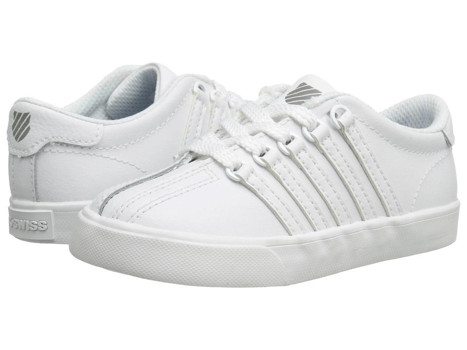 K-Swiss Kids Classic VNtm (Infant/Toddler) (White/White) Kids Shoes