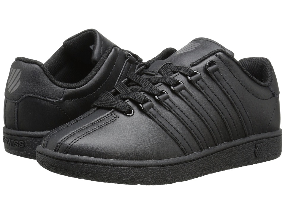 K Swiss Kids Classic VN Big Kid Black/Black Kids Shoes