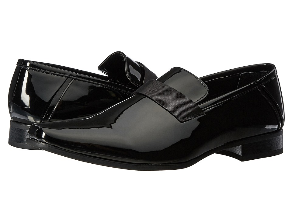 Calvin Klein - Bernard Black Patent Mens Shoes $110.00 AT vintagedancer.com