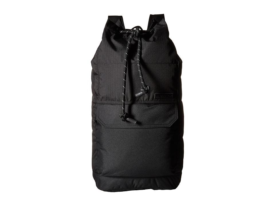 Burton Frontier Pack True Black Triple Ripstop Backpack Bags