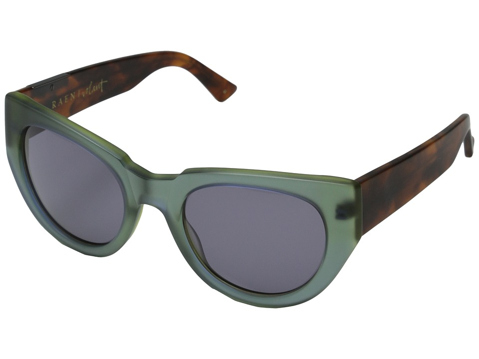 RAEN Optics Volant Matte Seaglass/Matte Rootbeer Plastic Frame Sport Sunglasses