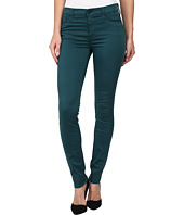Hudson - Nico Mid-Rise Super Skinny in Graphite Teal