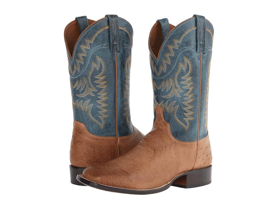 Lucchese M2671 (Tan Ostrich) Cowboy Boots