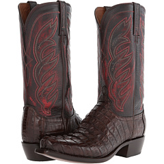 M2692 (Barrel Brown Hornback Caiman) Cowboy Boots