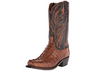 M2691 (Tan Hornback Caiman) Cowboy Boots