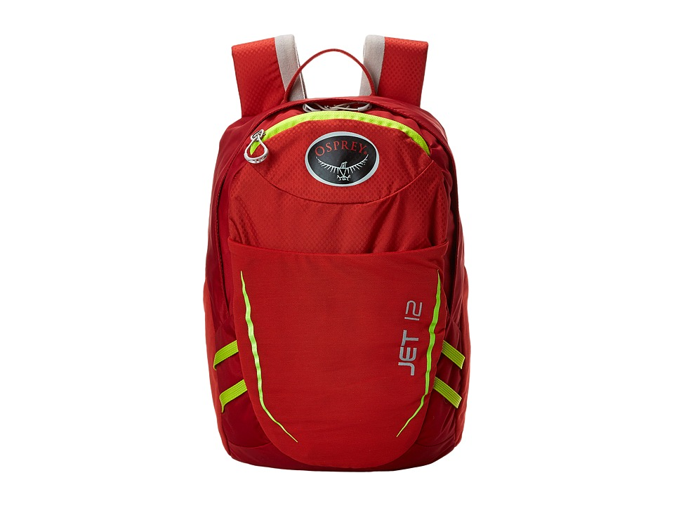 Osprey Jet 12 Strawberry Red Day Pack Bags