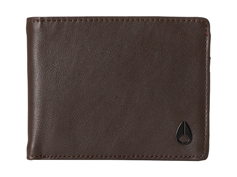Nixon Escape Bifold w/ Removable Currency Clip - Brown