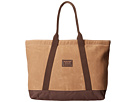 Burton Sofie Tote Large (Beagle Brown Waxed Canvas)